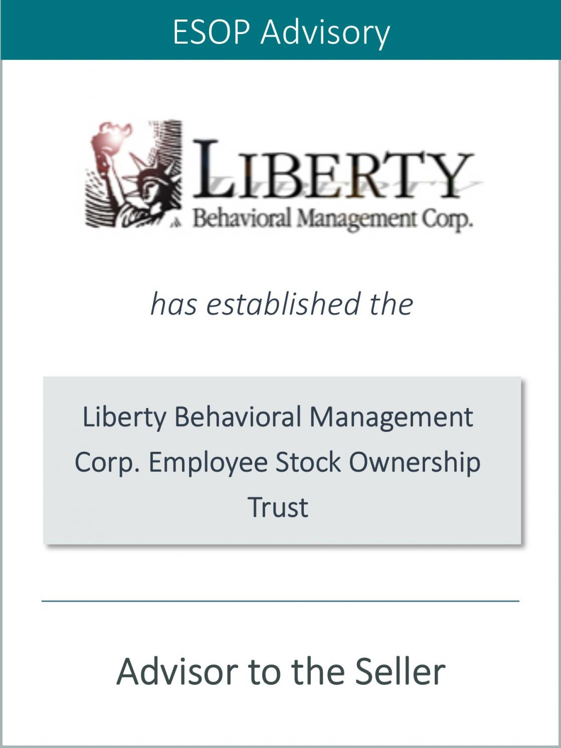 Prairie is Pleased to Announce the Sale of Liberty
