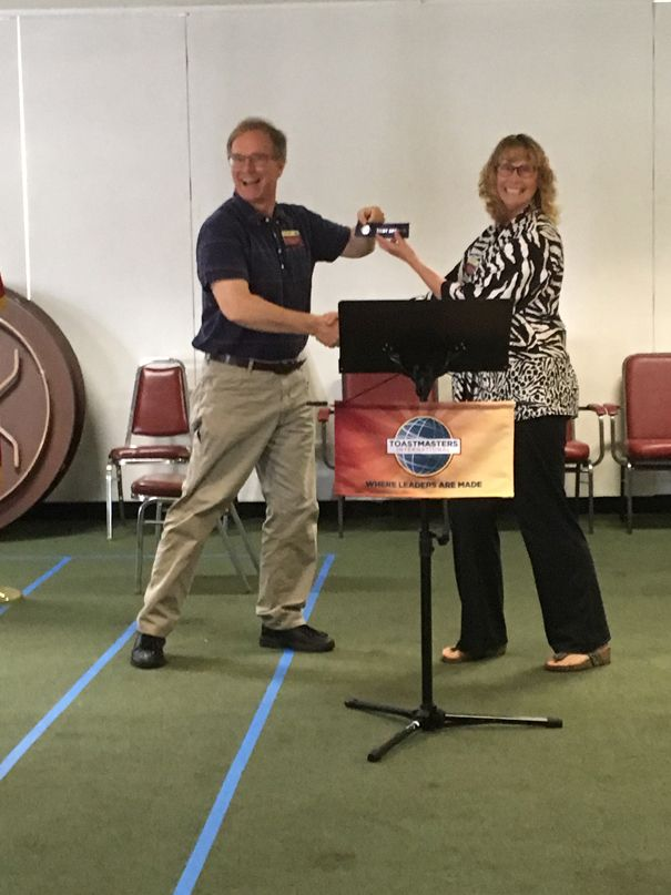 voyagers toastmasters international and humorous speech