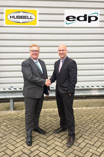 edp europe appointed uk distributor for hubbell premise wiring rh firstlinemag com Mohawk Cable Hubbell Data Rack