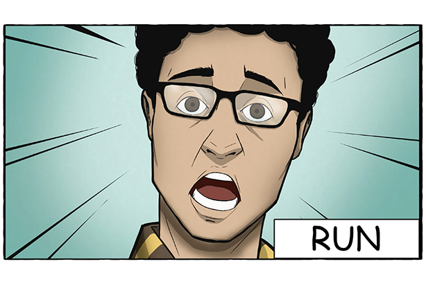 Image result for Run, Hide, Tell Graphic novel