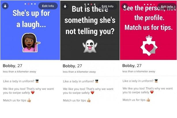 Case study: Tinder stunt gives police platform to talk dating safety