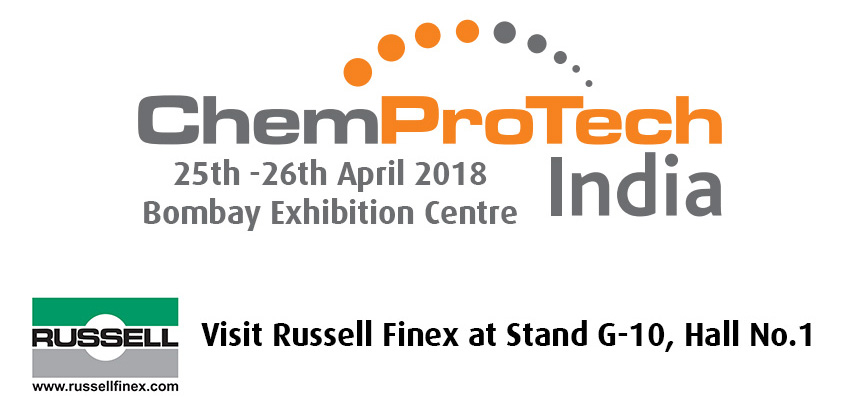 Russell Finex at ChemProTech 2018