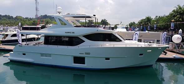Nomad 65 at the Singapore Yacht Show 2018