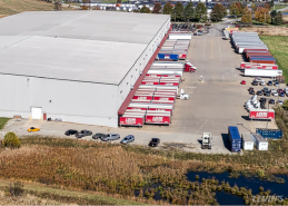 Levin Warehouse Aerial