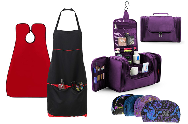 Cosmetic gear, apparel and luggage.
