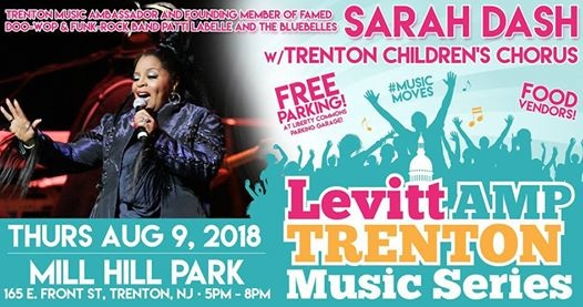 Sarah Dash  Lifting Trenton Together Concert