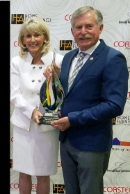 ROTY Rick and Pat Receive HFA Retailer of the Year Award