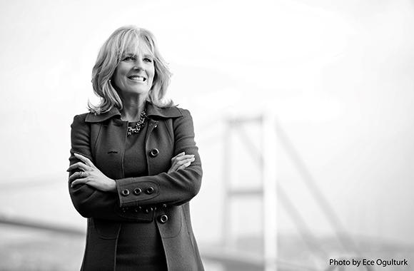 Dr. Jill Biden, Photo by Ece Ogulturk